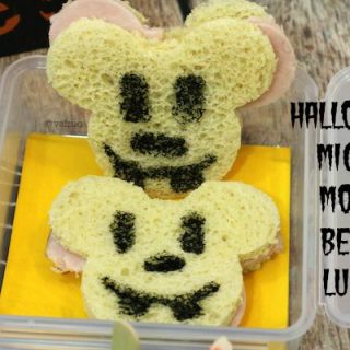 Halloween Mickey Mouse Bento Lunch
