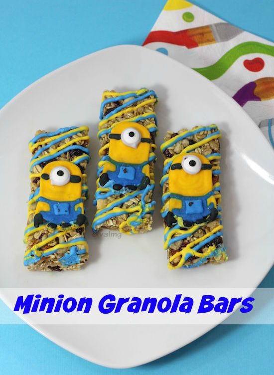 Minion Granola Bars Recipe