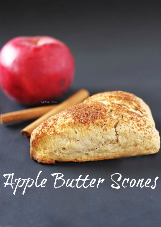 Apple Butter Scones Recipe - From Val's Kitchen