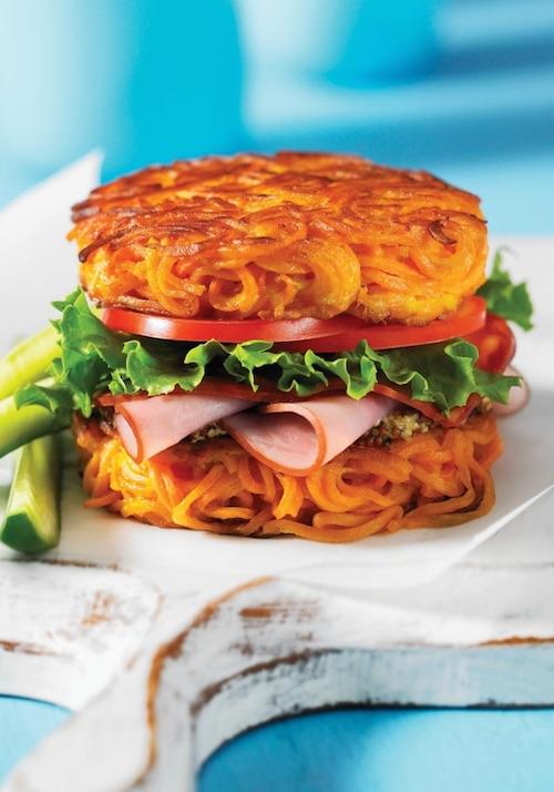 Sweet Potato Noodle Bun Recipe