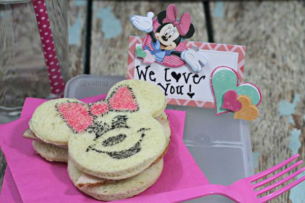 How To Make A Minnie Mouse Bento Lunch For Kids - From Val's Kitchen