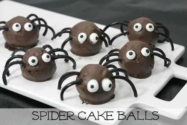Spider Cake Balls Recipe - From Val's Kitchen