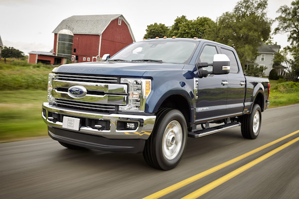 All-new 2017 Ford F-Series Super Duty Trucks Unveiled