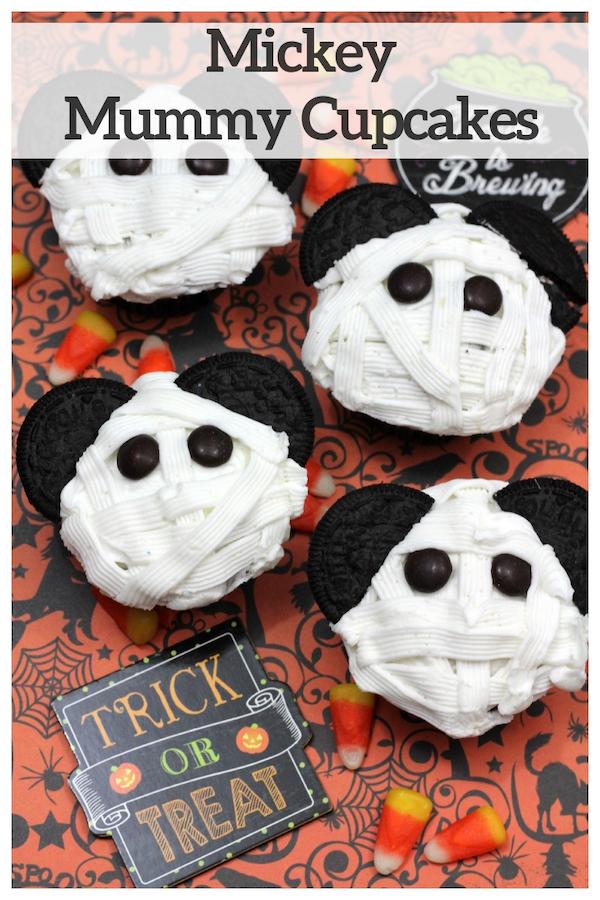 Mickey Mummy Cupcakes Recipe