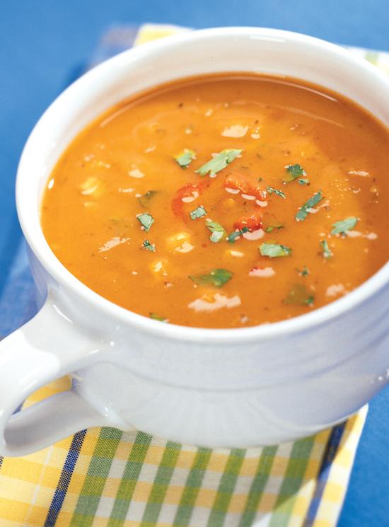 Santa Fe Sweet Potato Soup Recipe