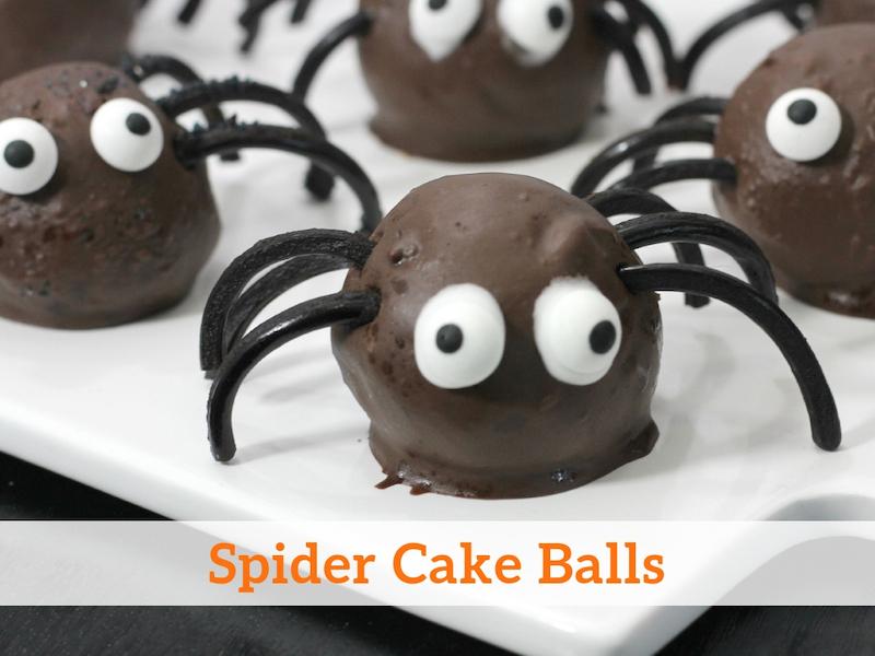 Spider Cake Balls Recipe