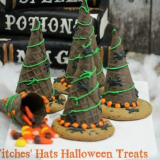 Witches' Hats Halloween Treats