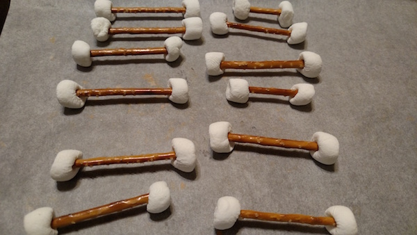 How To Make Chocolate Covered Bones For Halloween