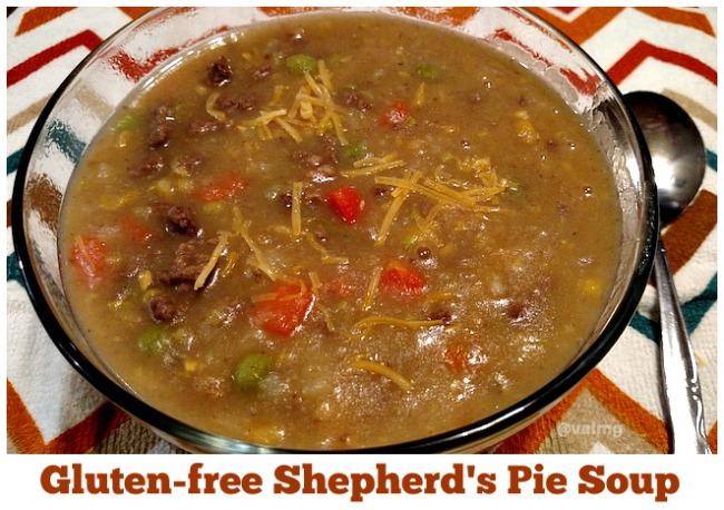 Gluten-free Shepherd's Pie Soup Recipe - From Val's Kitchen