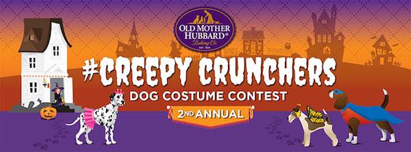 Old Mother Hubbard Pet Snacks Annual #CreepyCrunchers Dog Costume Contest