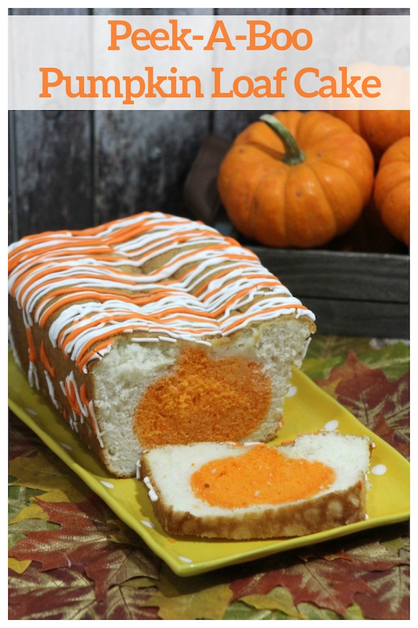 Peek-A-Boo Pumpkin Loaf Cake Recipe