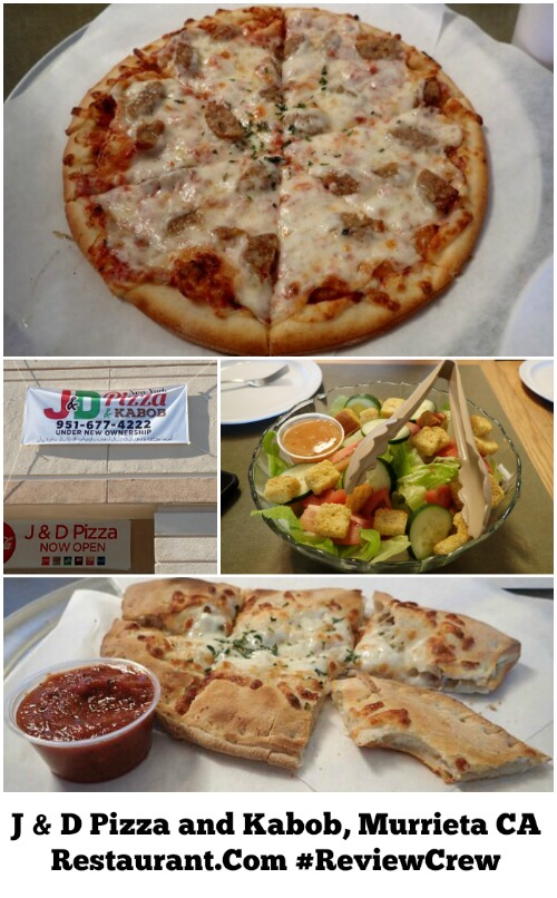 J & D Pizza and Kabob, Murrieta CA Restaurant Review – Restaurant.Com #ReviewCrew