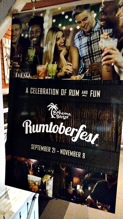 Rumtoberfest At Bahama Breeze