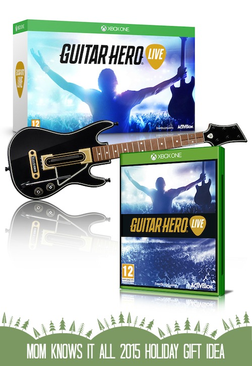 Mom Knows It All 2015 HOLIDAY GIFT GUIDE - Guitar Hero Live