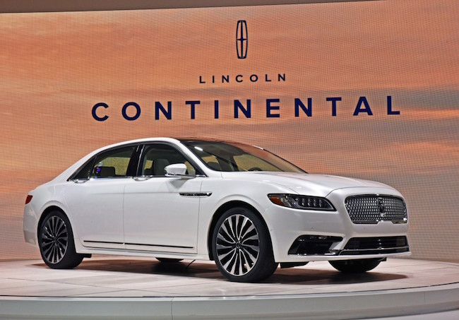 Reveal Of 2017 Lincoln Continental Brings Return Of Quiet Luxury #FordNAIAS