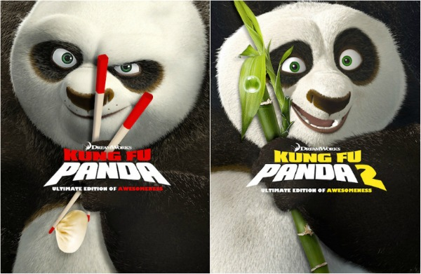 Kung Fu Panda & Kung Fu Panda 2 DVD Giveaway #PandaInsiders