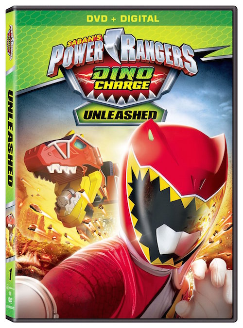 Power Rangers: Dino Charge Unleashed DVD
