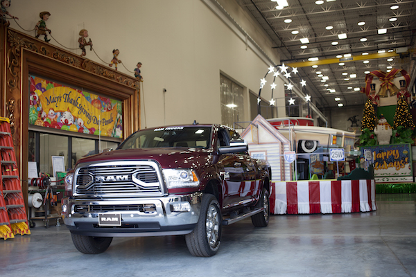 Ram Trucks Tow Parade Floats at 89th Annual Macy's Thanksgiving Day Parade