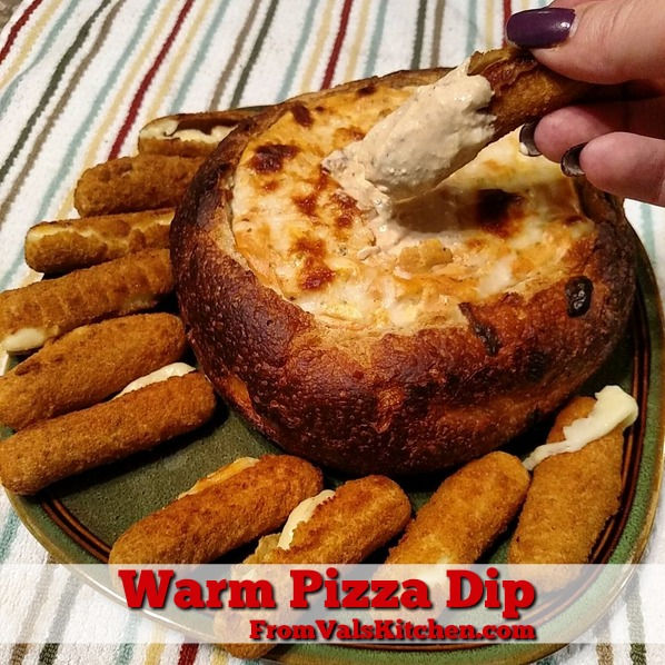 Warm Pizza Dip Recipe From Val's Kitchen