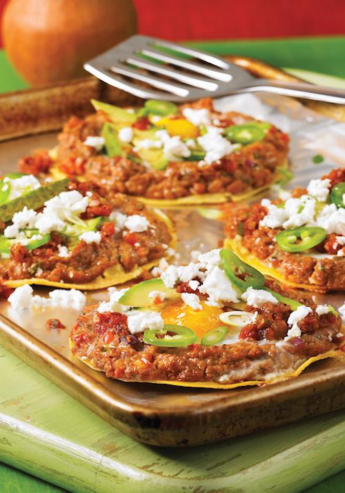 Huevos Rancheros Tortilla Tarts Recipe