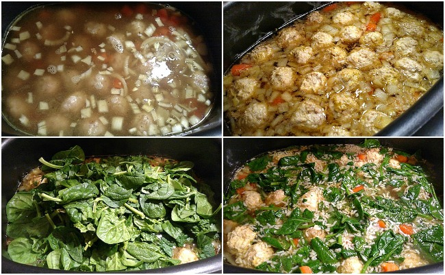 Slowcooker Gluten-free Italian Wedding Soup Recipe - From Val's Kitchen