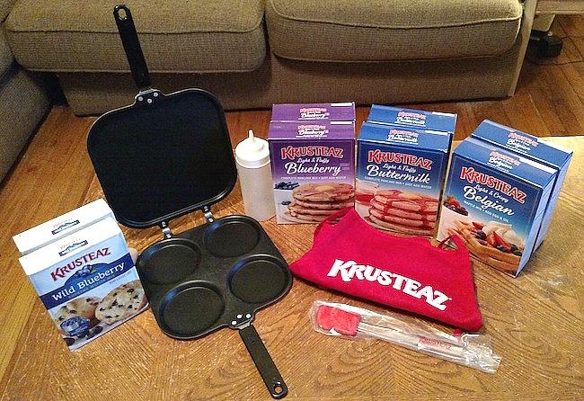#BreakfastNight With Krusteaz: Bacon Waffle Grilled Cheese #MyKrusteaz
