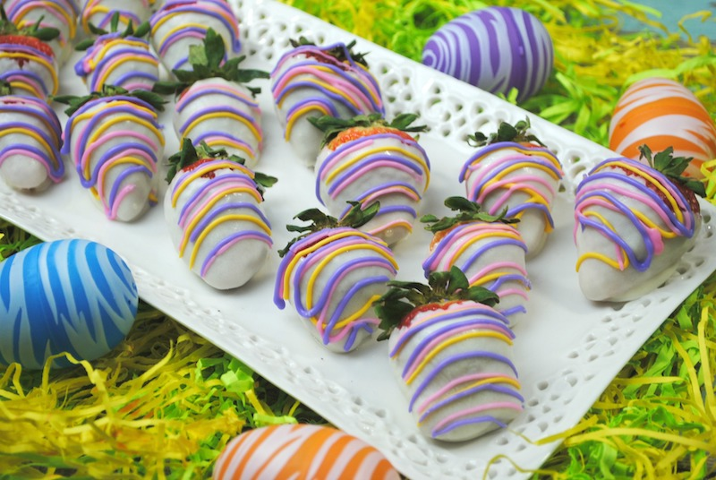 Easter Chocolate Covered Strawberries Recipe