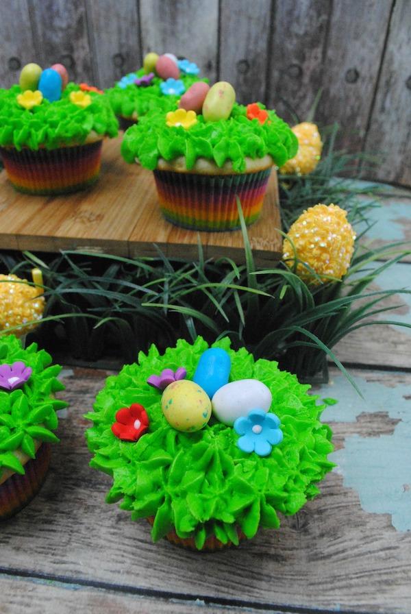 Easter Egg Hunt Cupcakes Recipe