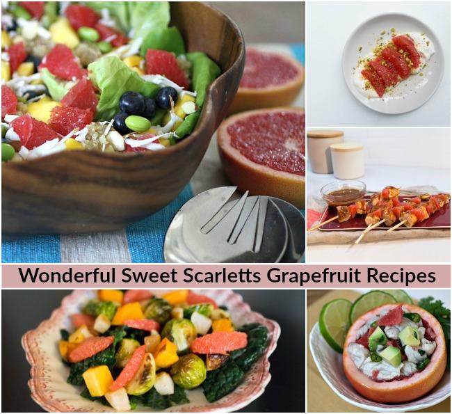 Wonderful Sweet Scarletts Grapefruit Recipes
