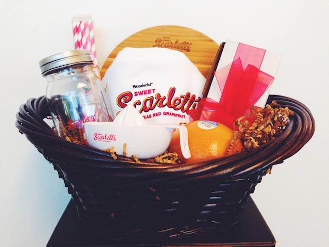 Wonderful Sweet Scarletts Grapefruit giveaway