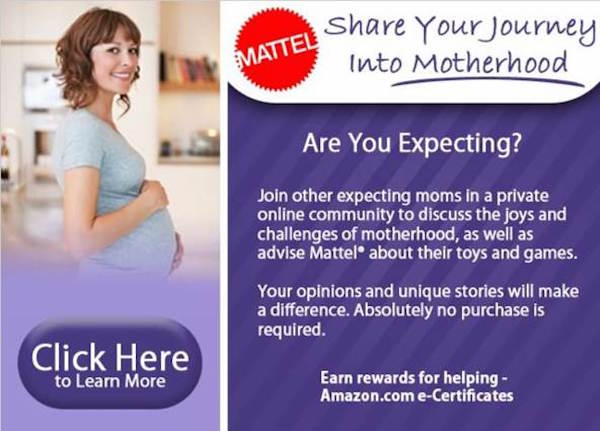Mattel - Earn Amazon Gift Codes Sharing Your Opinions About Children's Toys And Games