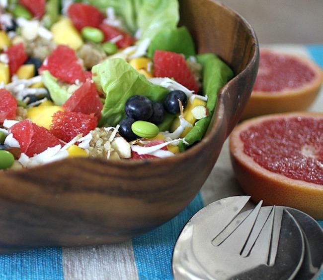 Wonderful Sweet Scarletts Tropical Grapefruit Salad Recipe