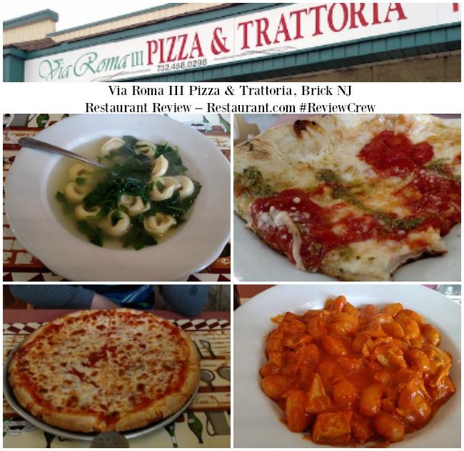 Via Roma III Pizza & Trattoria, Brick NJ – Restaurant Review – Restaurant.com #ReviewCrew