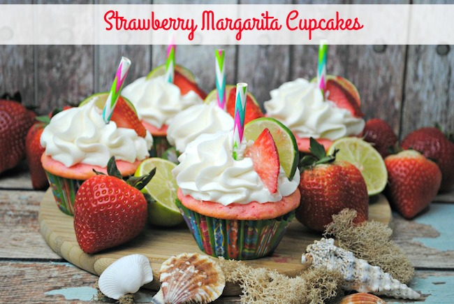 Strawberry Margarita Cupcakes Recipe From Val's Kitchen