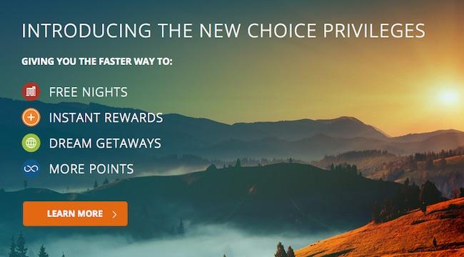 Choice Privileges Rewards