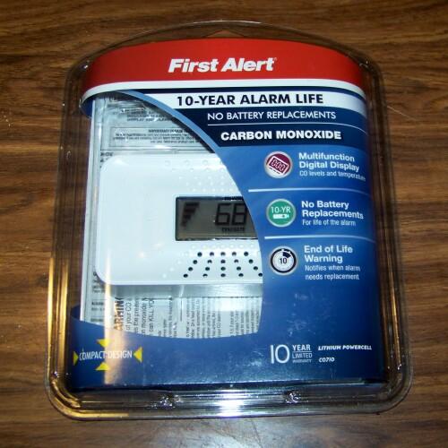FIRST ALERT Carbon Monoxide CO710 10-Year Alarm