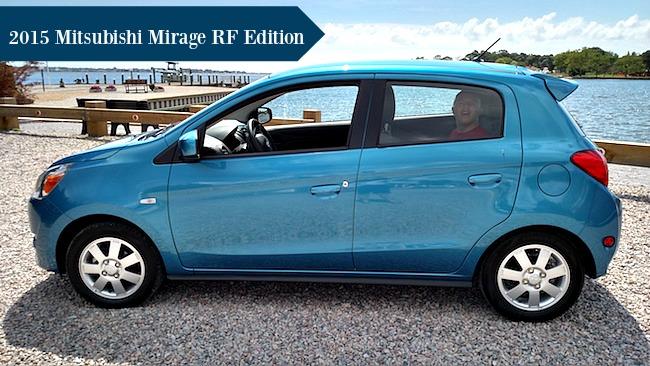 2015 Mitsubishi Mirage RF Edition #DriveMitsubishi - Mom Knows It All Car Review