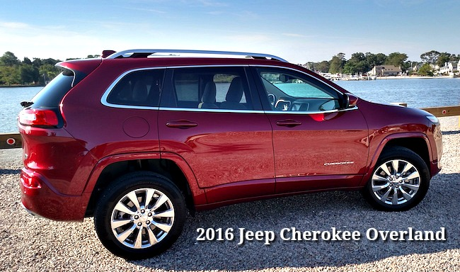 CAR REVIEW - 2016 Jeep Cherokee Overland SUV