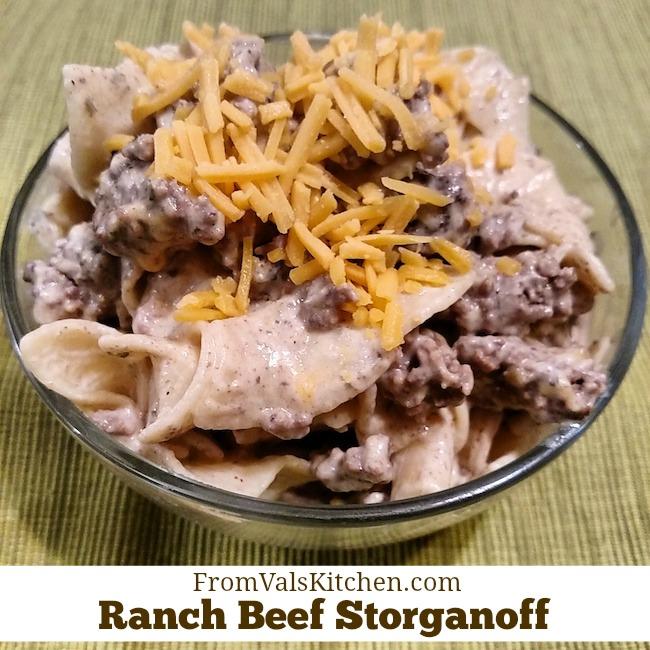 Ranch Beef Stroganoff Recipe From Val's Kitchen