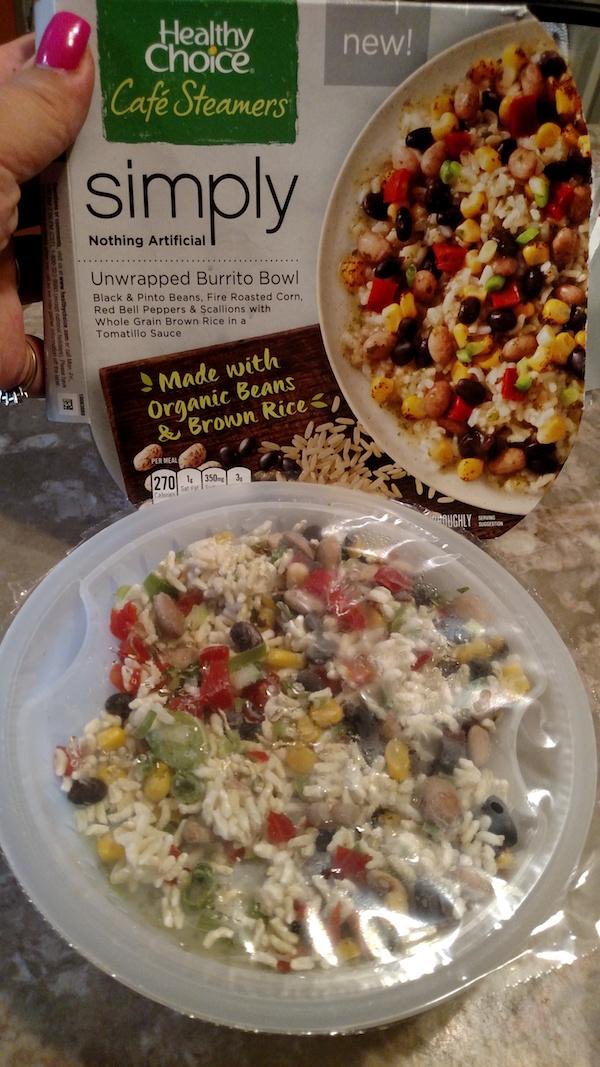 Healthy Choice Simply Café Steamers Organic Meals #LiveHealthyChoice