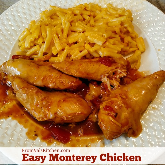 Easy Monterey Chicken Recipe From Val's Kitchen