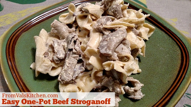 Easy One-Pot Beef Stroganoff Recipe For Ninja 3-in-1 Cooking System From Val's Kitchen