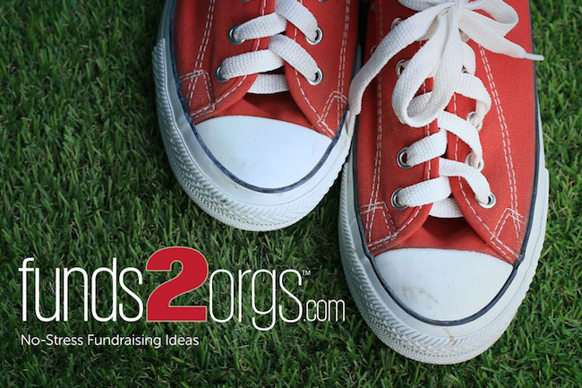 Funds2Orgs Shoe Drive Fundraisers