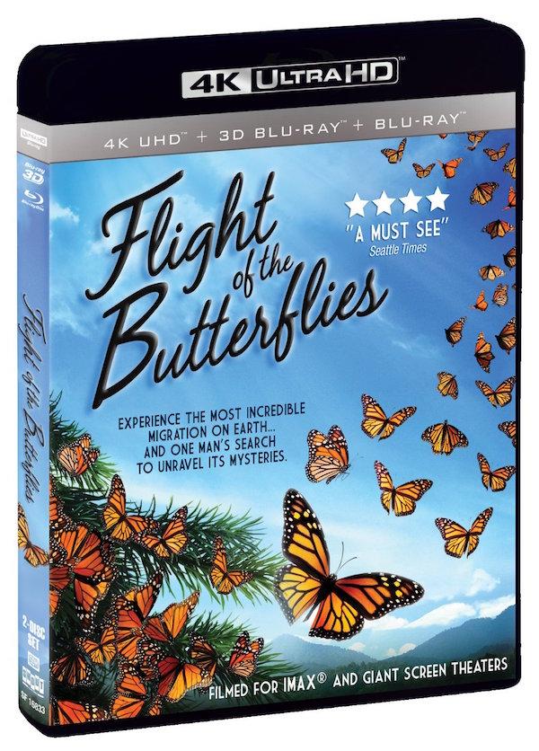 Flight of the Butterflies blu-ray
