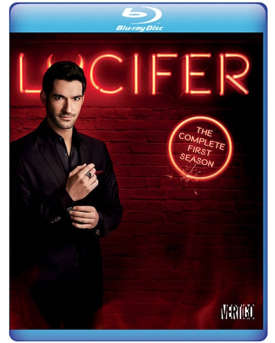 Lucifer: The Complete First Season blu-ray