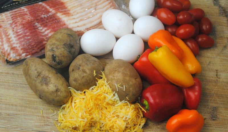 Cast Iron Skillet Southwestern Breakfast Casserole Recipe