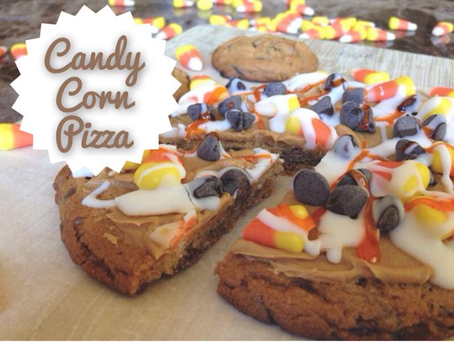 10 Fun Candy Corn Recipes - candy corn pizza