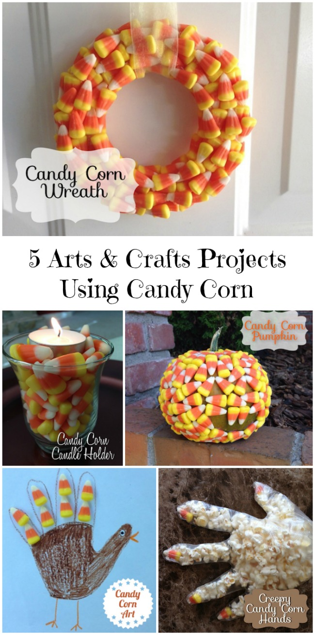 5 Arts & Crafts Projects Using Candy Corn