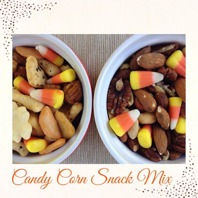 10 Fun Candy Corn Recipes - candy con snack mix