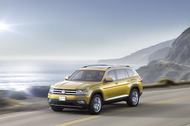 Volkswagen 2018 Atlas Unveiled